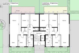 Bad Homburg – Wohnhäuser – Gerstner Kaluza Architektur Frankfurt