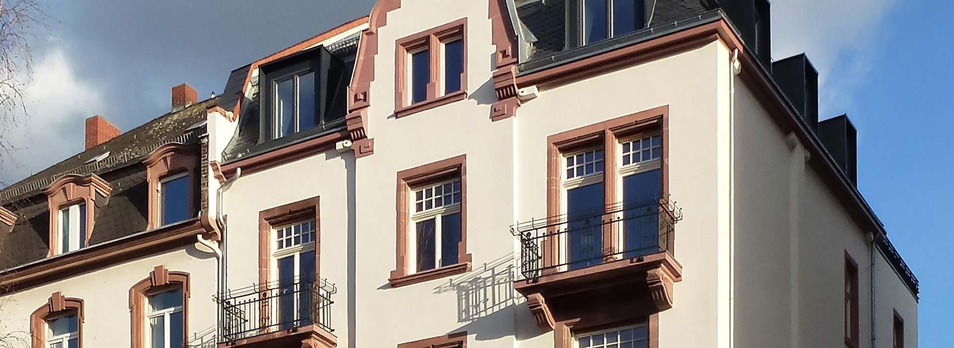 Frankfurt Bockenheim – Wohnungsbau Altbau – Gerstner Kaluza Architektur Frankfurt