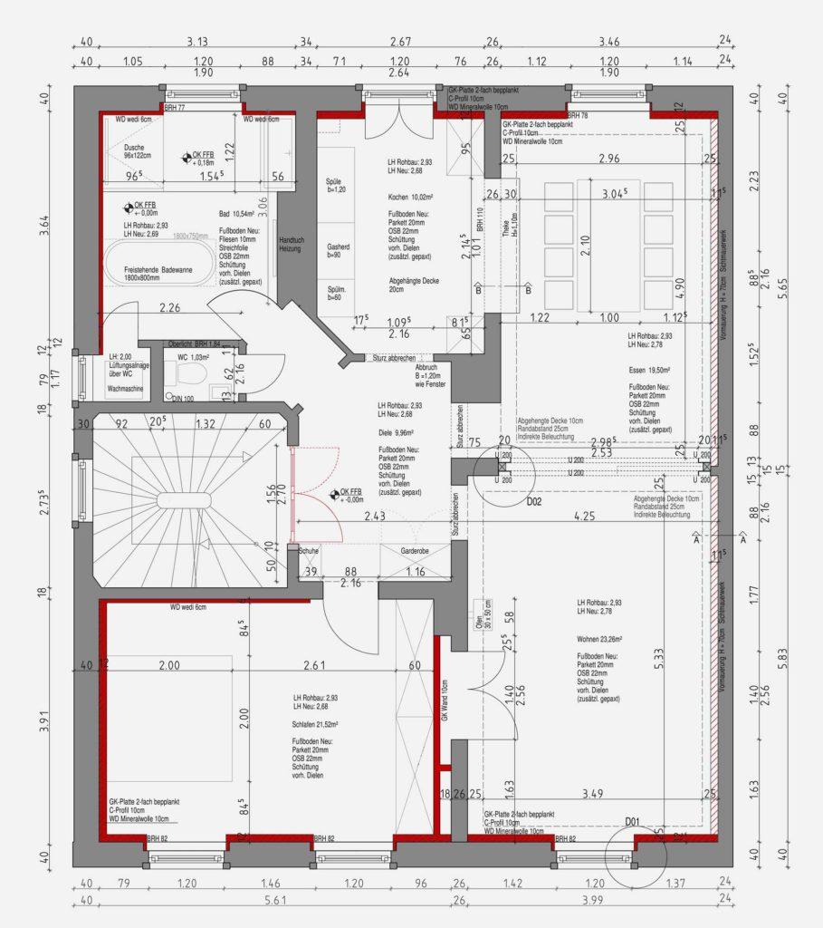 Frankfurt Nordend – Innenausbau – Gerstner Kaluza Architektur Frankfurt
