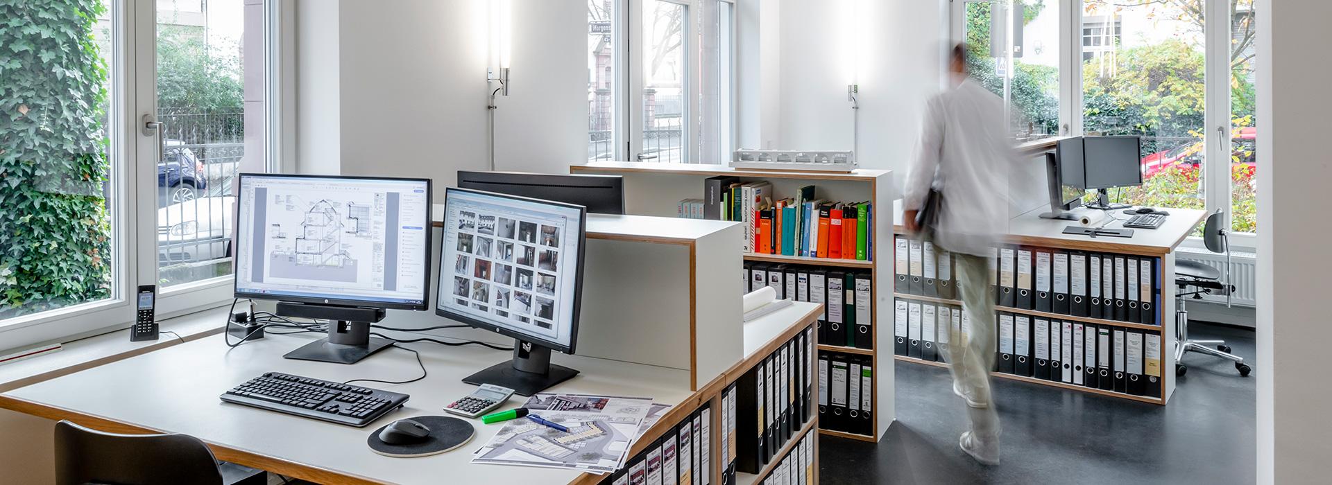 Frankfurt – Bürobau – Gerstner Kaluza Architektur Frankfurt