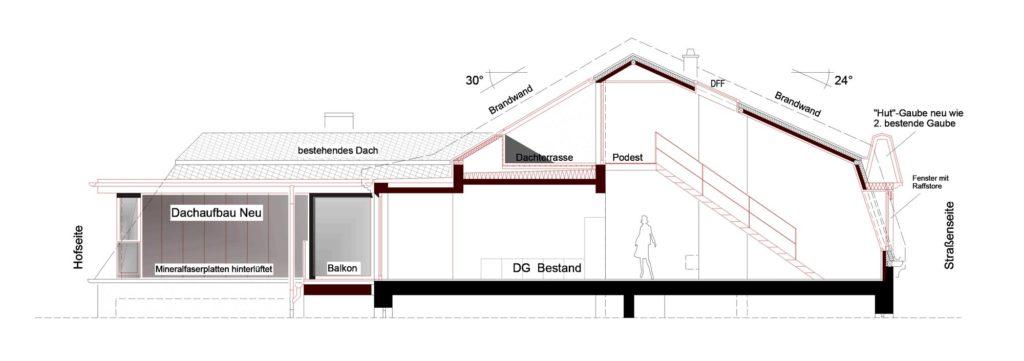Frankfurt – Dachausbau – Gerstner Kaluza Architektur Frankfurt