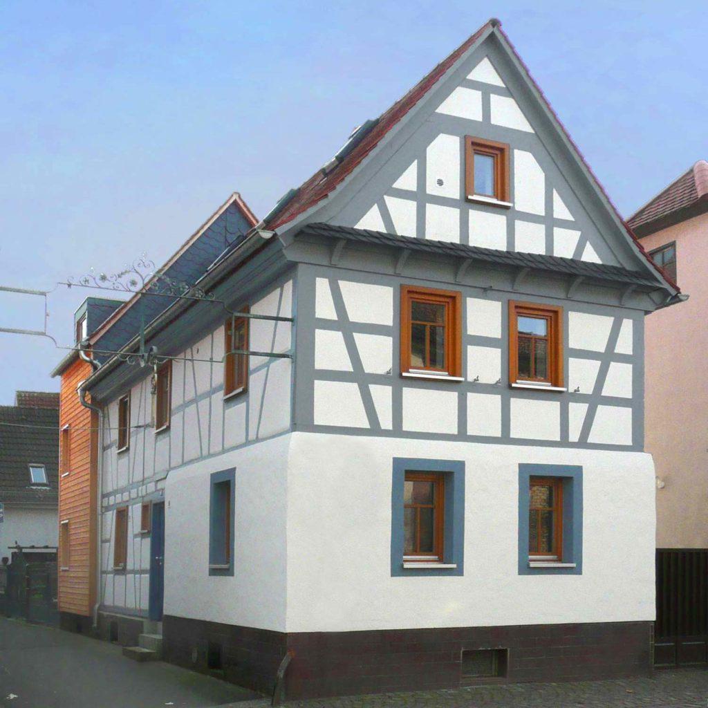Maintal – Fachwerkhaus mit Anbau – Gerstner Kaluza Architektur Frankfurt
