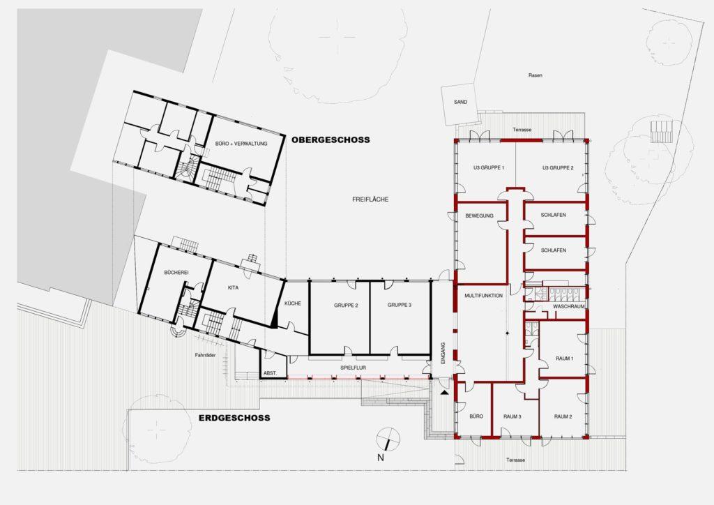 Offenbach – Kita Erweiterungsbau – Gerstner Kaluza Architektur Frankfurt